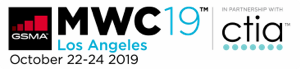 Mobile World Congress 2019 Logo in Los Angeles